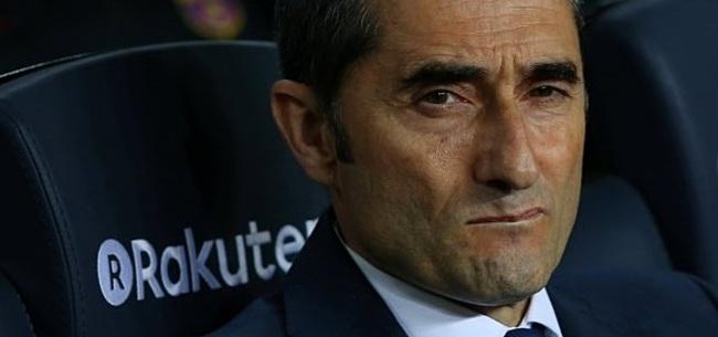 Foto: 'Onrust in Camp Nou: Valverde overweegt op te stappen'