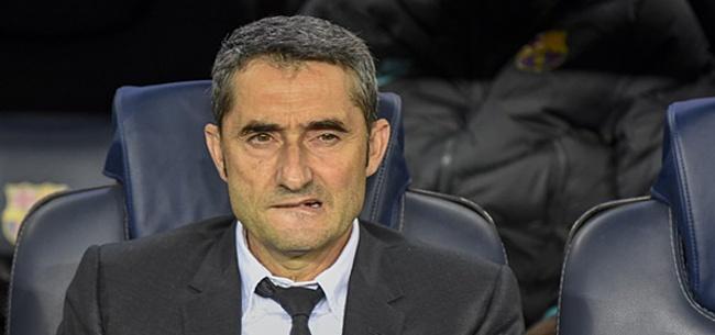 Foto: 'Barcelona communiceert heldere boodschap met Valverde'