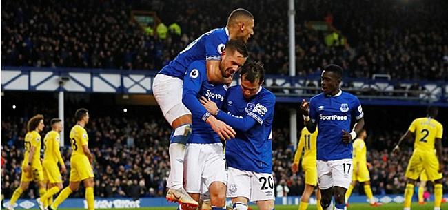 Foto: Everton bezorgt Chelsea tegenvaller in strijd om CL-ticket