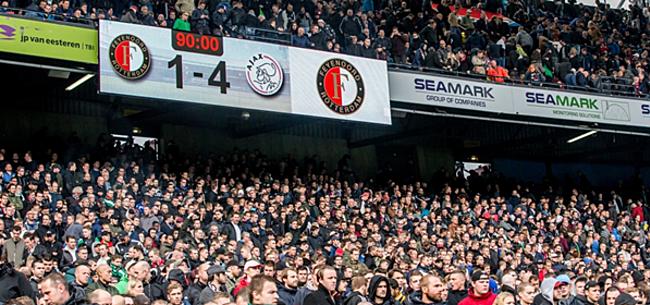 Foto: Bijzonder veel kritiek op actie Feyenoord-fans