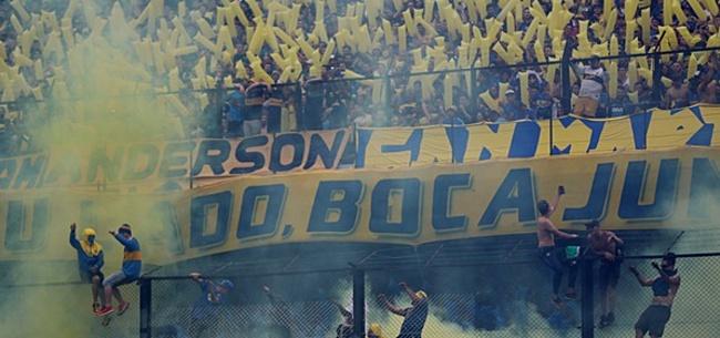 Foto: VIDEO: Boca-fans zwaaien selectie uit voor reis naar Madrid