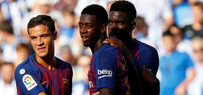 Foto: FC Barcelona bevestigt: smaakmaker twijfelgeval voor duel met PSV