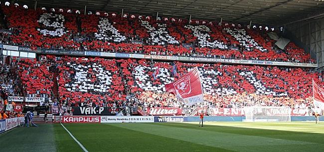 Foto: 'FC Twente gaat Eredivisie in zonder You'll Never Walk Alone'