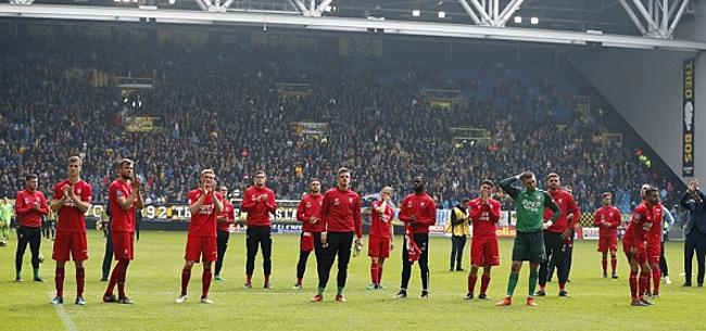 Foto: Spits kondigt na zes jaar bij FC Twente vertrek aan
