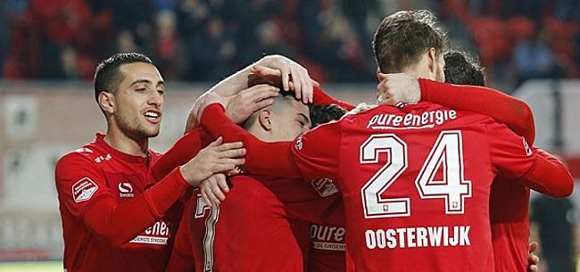Foto: Twente verstevigt koppositie dankzij prutsende concurrenten