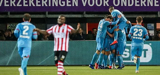 Foto: FC Twente snuffelt aan Eredivisie na zege bij Sparta