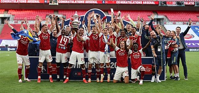 Foto: Opvallende 'move' Arsenal in coronacrisis