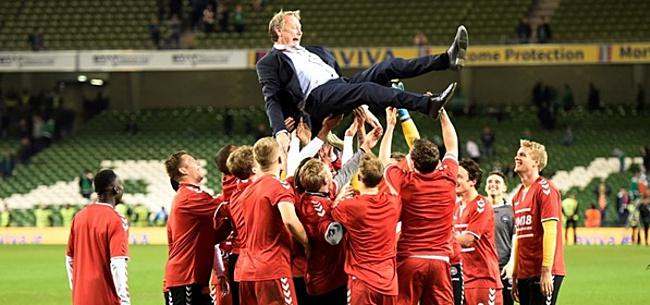 Foto: Deense voetbalbond wil complete nationale ploeg vervangen vanwege bizar conflict