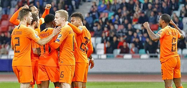 Foto: EK-voordeel voor Nederlands elftal plots stuk realistischer