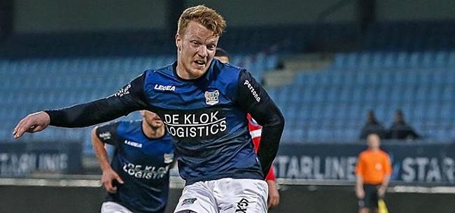 Foto: 'Heerenveen heeft na Lammers nieuwe topschutter op het oog'