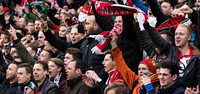 Foto: Joodse oma haalt uit naar mede-Feyenoordfans: