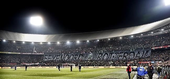 Foto: Feyenoord-fans zijn het zat en halen uit naar eigen club