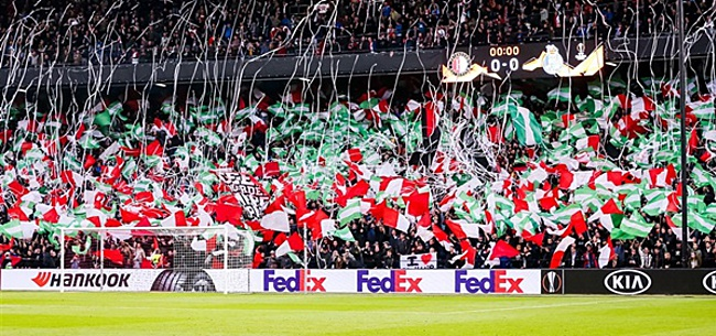 Foto: Feyenoord-fans in onzekerheid: 'Pas na het weekend'