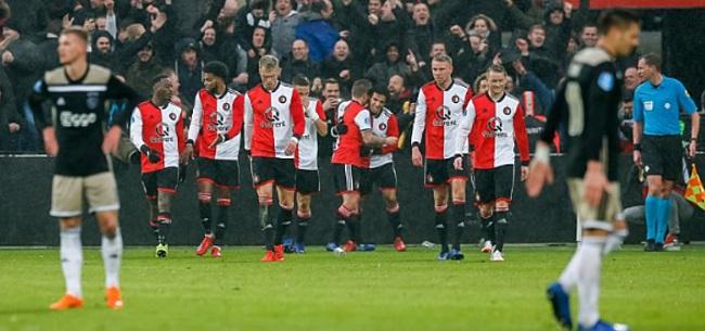 Foto: Ajax aasde op Feyenoord-speler: