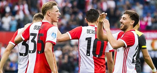 Foto: 'Leuk dat Feyenoord in de kleuren van Amsterdam gaat spelen'
