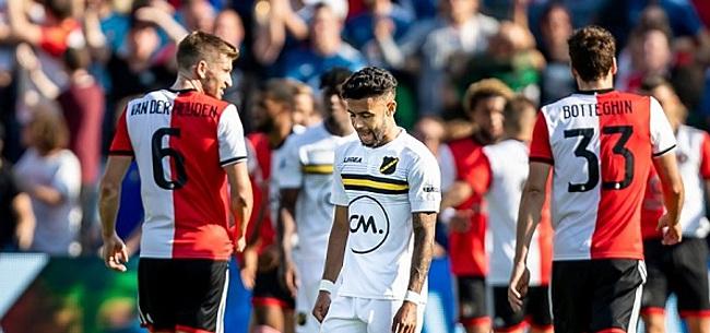 Foto: Feyenoord-legioen woedend op eigen fans: