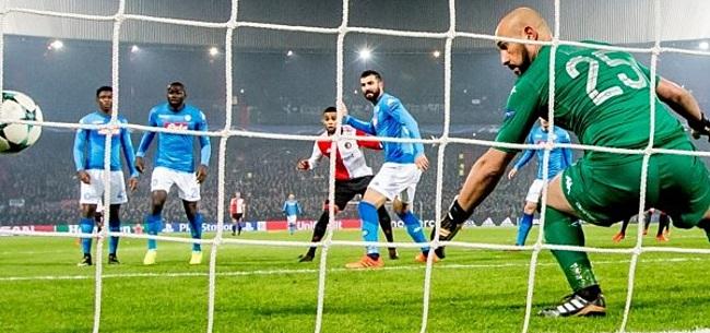 Foto: Napoli-spelers wijzen na nederlaag in Rotterdam vooral naar één moment