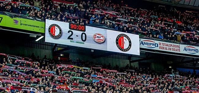 Foto: Onbegrip na Feyenoord - PSV: