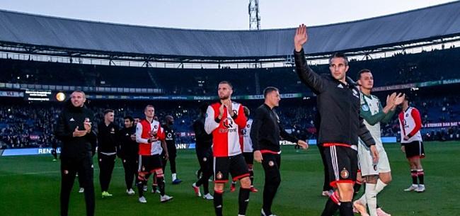 Foto: 'Lucky Feyenoord': 'Het is belangrijk dat je thuis loot'