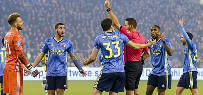 Foto: Kijkers Vitesse - Feyenoord zijn er helemaal klaar mee: 'Te ziek voor woorden'