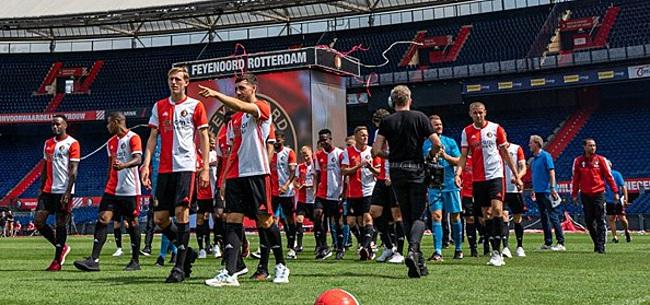 Foto: 'Feyenoord moet nog voor deadline vrezen voor pijnlijke transfer'
