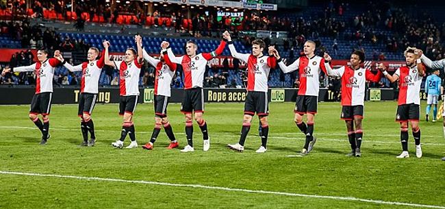 Foto: Feyenoord-basisspeler loopt blessure op en is onzeker voor cruciaal duel met AZ