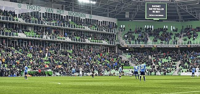 Foto: Fans gaan los op één Feyenoorder:
