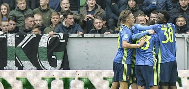 Foto: 'Feyenoord zorgt voor verbijstering bij Ajax, AZ en PSV'