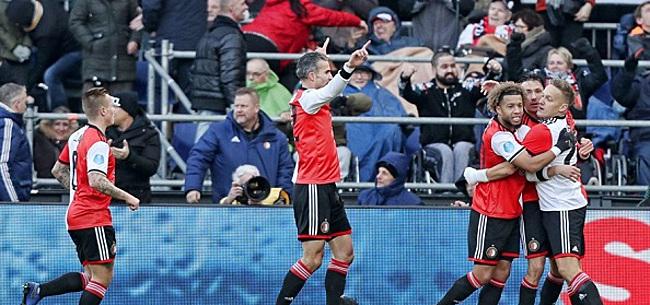 Foto: Feyenoord-fans gaan voor transfer: