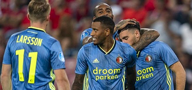 Foto: Pijnlijk: 'Club totaal niet tevreden over Feyenoord-huurling'
