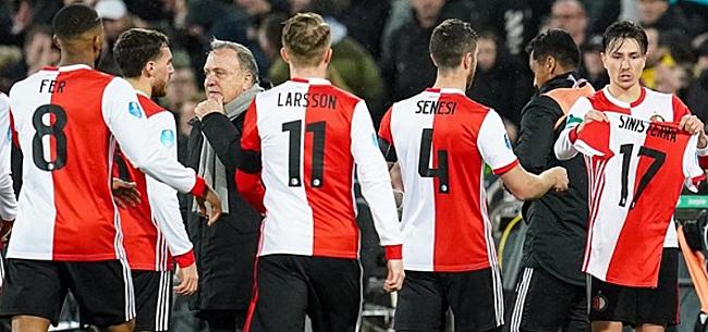 Foto: 'Ik zou het de stunt van de eeuw vinden als Feyenoord nog kampioen wordt'