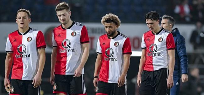 Foto: Toornstra oneens met spreekkoren Feyenoord-fans: