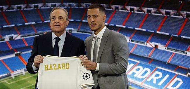 Foto: 'Eden Hazard debuteert bij Real Madrid met regelrecht bizar rugnummer'