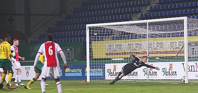 Foto: Fortuna periodekampioen na zege op Jong Ajax, NEC haalt uit