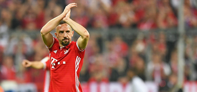 Foto: 'Clubs in onderhandeling over transfer Ribéry'