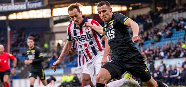 Foto: AZ laat na Feyenoord voorbij te streven; Willem II te sterk in Tilburg