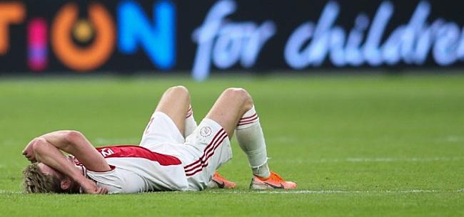 Foto: De Jong richt zich tot Ajax-fans: