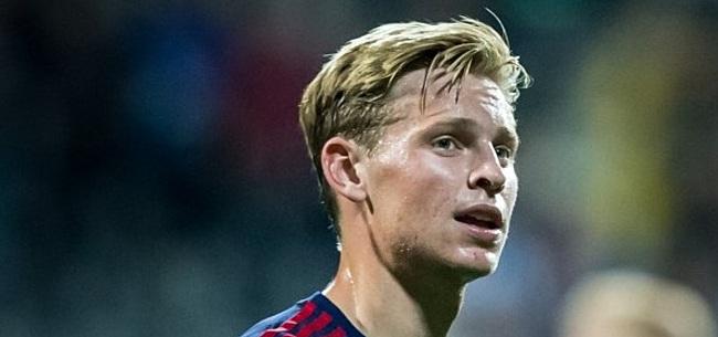 Foto: De Jong constateert probleem: 'Hoop dat meer talenten dat doen'
