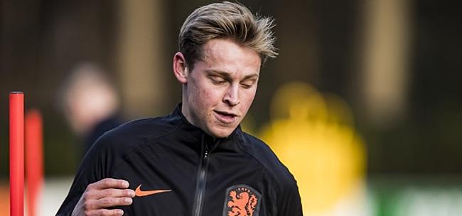 Foto: Frenkie de Jong volgt De Ligt op als winnaar Johan Cruijff Prijs