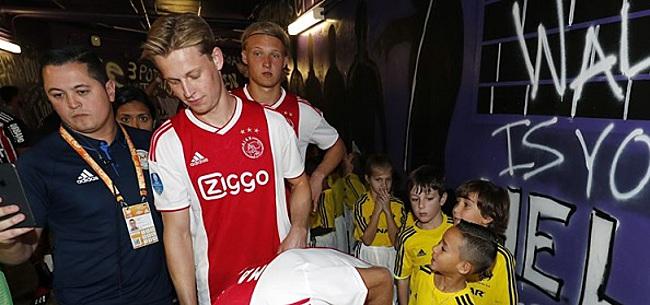 Foto: 'Ajax heeft transferboodschap voor Frenkie de Jong'