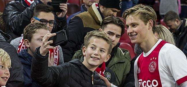 Foto: Incidentje bij Ajax: