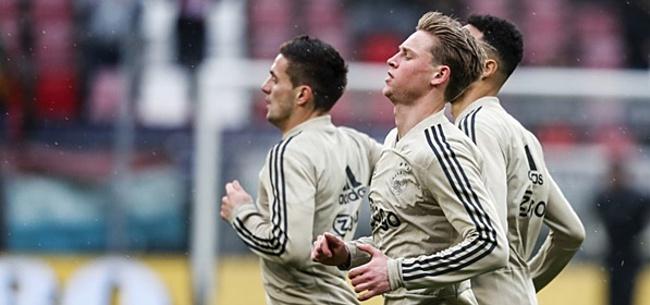 Foto: 'Tottenham wil Eriksen-geld gebruiken voor De Jong'
