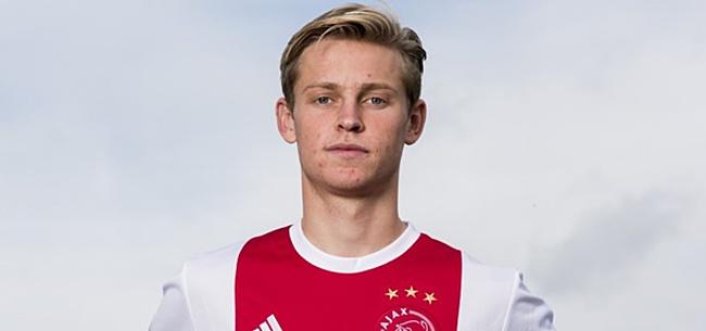 Foto: 'Ajax onthult vraagprijs voor Frenkie de Jong: recordbedrag'