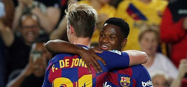 Foto: 'FC Barcelona hangt ongelooflijk prijskaartje aan supertalent Fati (16)'
