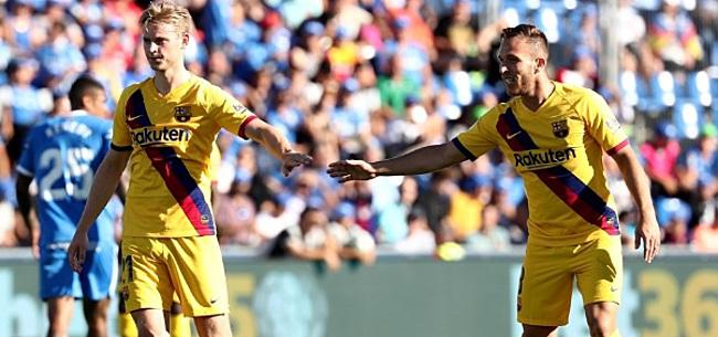 Foto: FC Barcelona-fans gaan massaal los vanwege Frenkie de Jong