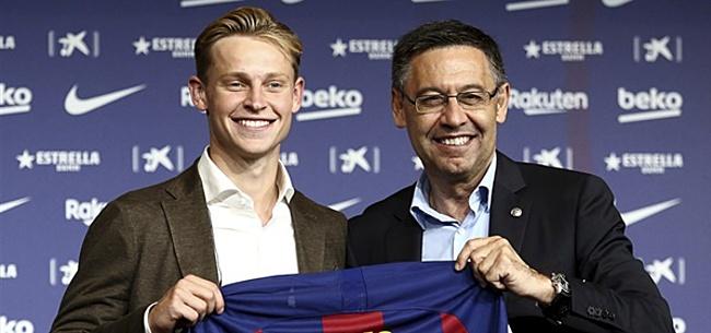 Foto: Valverde-interview belooft niet veel goeds voor Frenkie de Jong