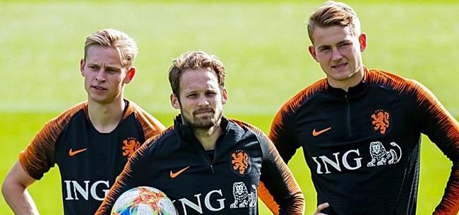 Foto: De Jong over situatie De Ligt: