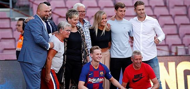 Foto: De Jong: 'Maxwell heeft er alles aan gedaan'