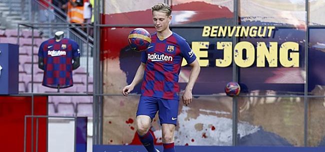 Foto: Frenkie de Jong héél duidelijk over 'vervelende' uitspraak Valverde