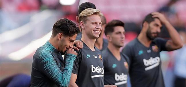 Foto: Koeman verrast met opmerkelijk Barca-middenveld in opstelling